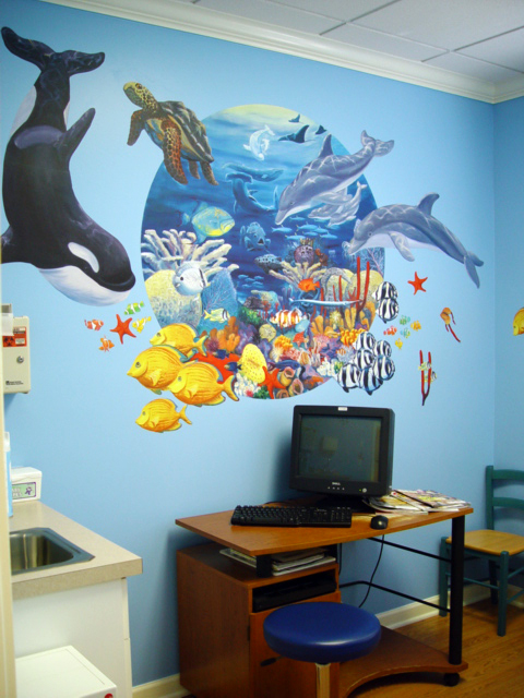 Ideas For Wall Decor In Office : Share picture of your decorating ideas