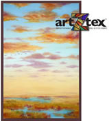 The early morning light falls upon the wetlands area of the Georgia coast. link to artZtex repositionable fabric products