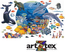 Under the Sea mural on artZtex